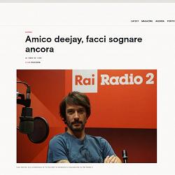 "Radio2 In the Mix su ""IL - Sole 24 Ore"""