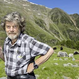 Reinhold Messner a Radio anch'io: