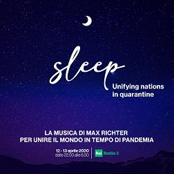 Max Richter's Sleep. Unifying nations in quarantine