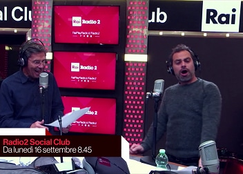 Radio2 Social Club anche in Tv