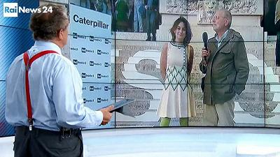 Caterpillar in televisione su Rainews