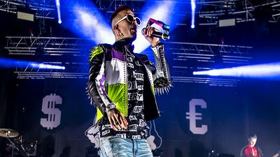 Sfera Ebbasta in Tour Europeo