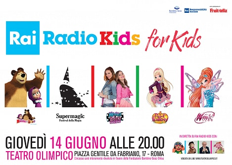 "Pronti per ""Radio Kids for Kids""?"